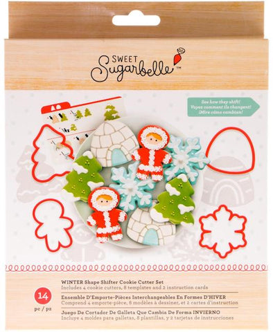 Sweet Sugarbelle Winter Shape Shifter Cookie Cutter Set