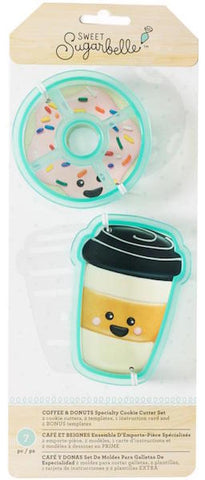Coffee & Donuts Cookie Cutter Set