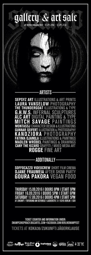 Berlin Swmp Fest Artists 2016