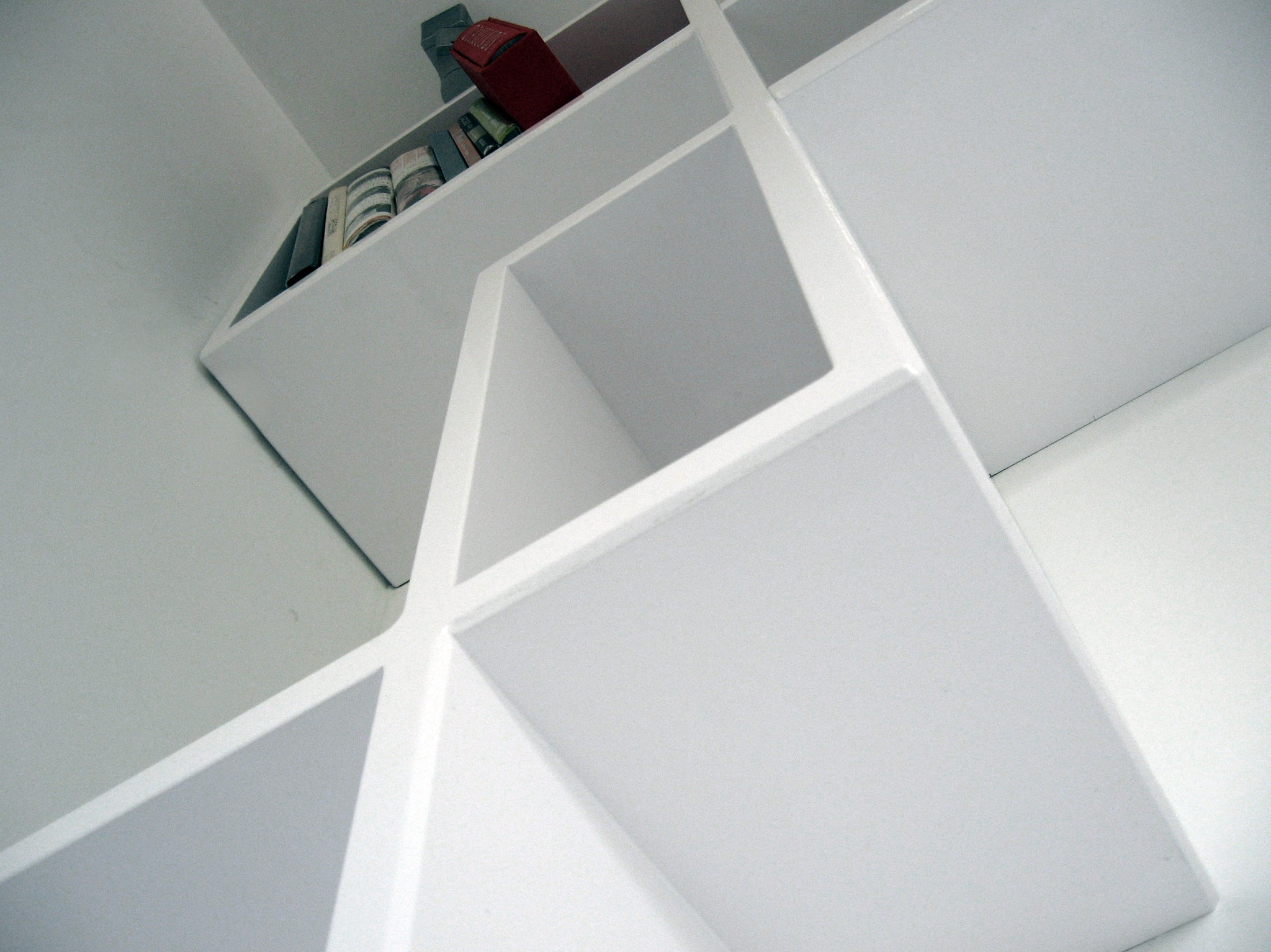 Customized bookshelf - detail