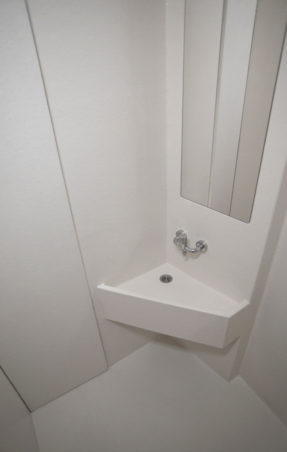 Interior solution | Small shower cubicle