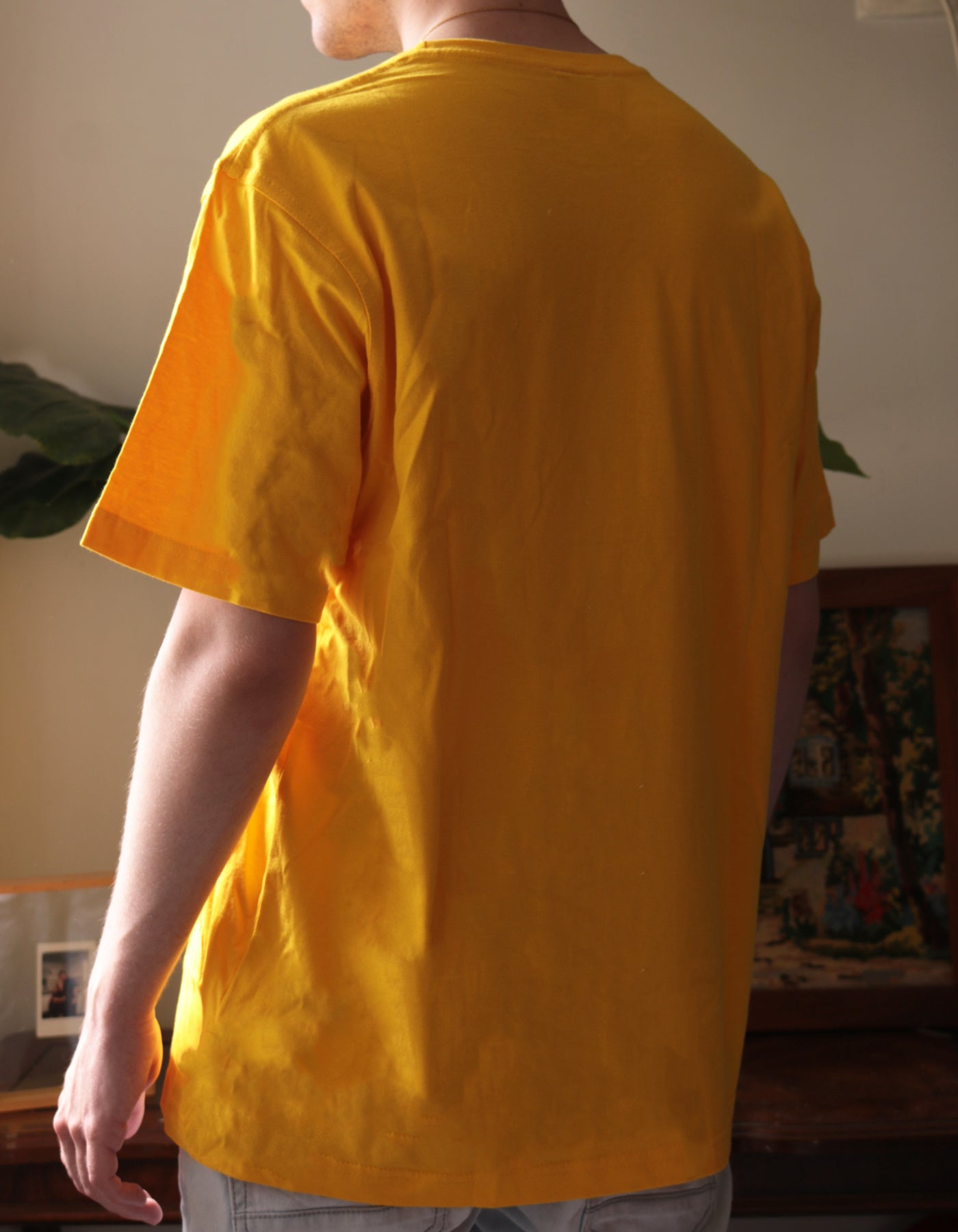 Pools - Yellow T-Shirt
