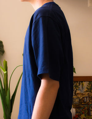 Day Break Season - Navy Cotton T-Shirt