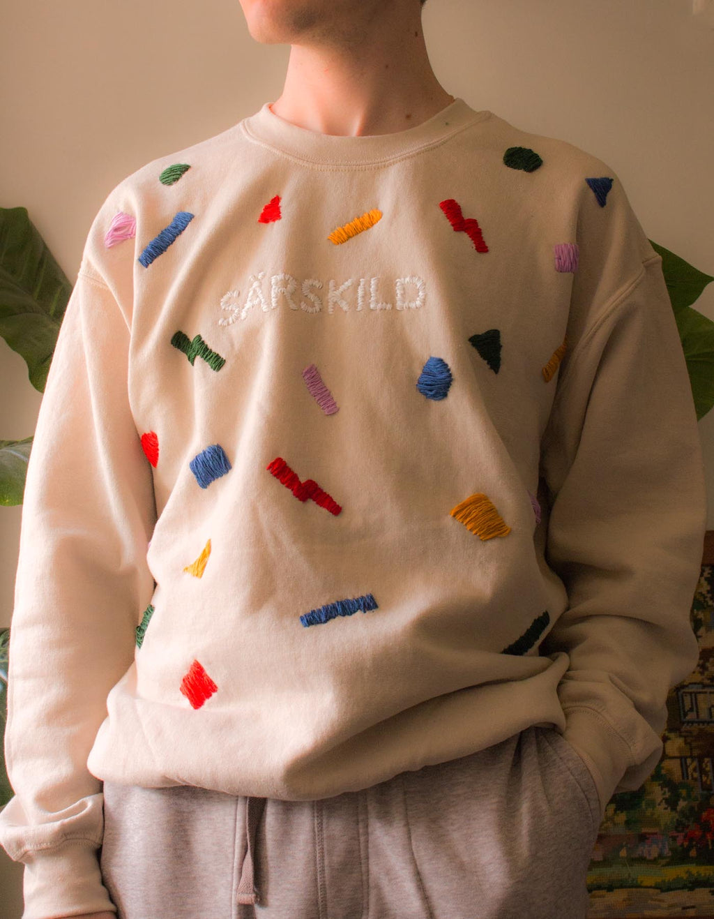 80's Winter - Embroidered Jumper