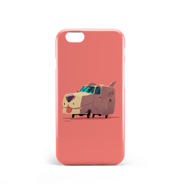 Dog shaped van phone case