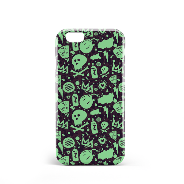 green squad phone case