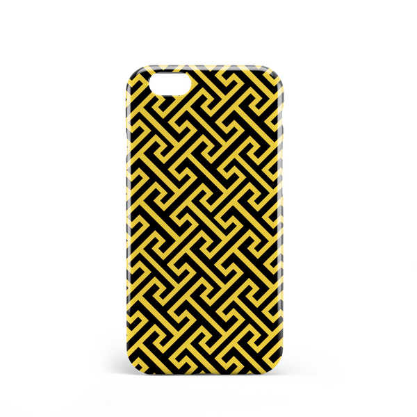 herald phone case yellow