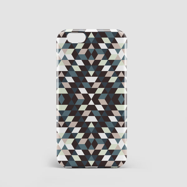 geometric pattern phone case