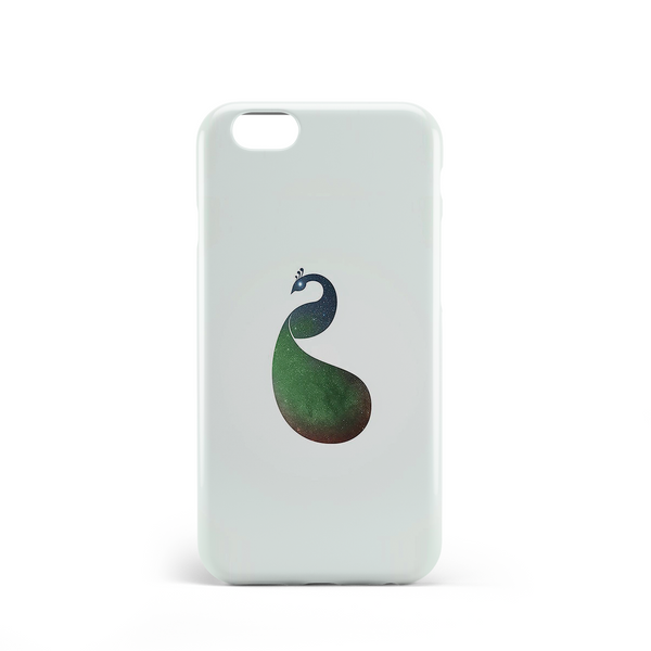 peacock paradise phone case