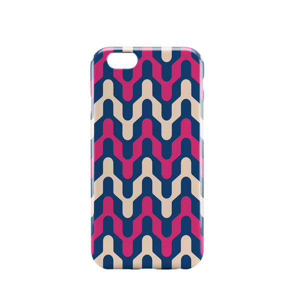 pink blue beige phone case