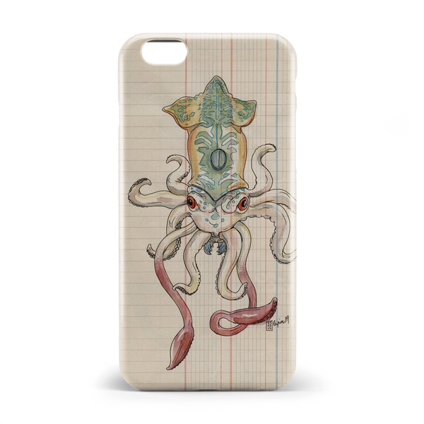 Demon octopus phone case