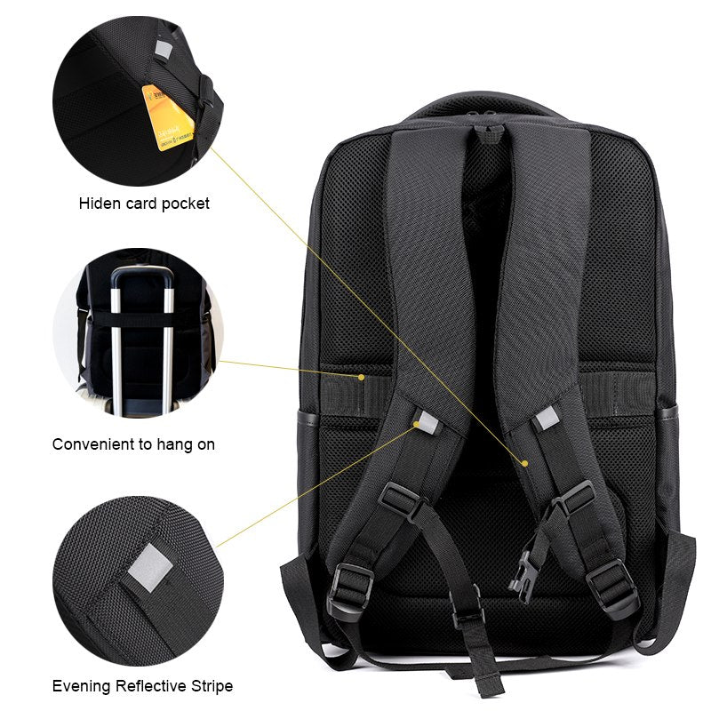 ccbb175abb2 ARCTIC HUNTER Backpack fashionable 15.6 inch Laptop Computer Backpacks Male  school bags for teenage women backpack
