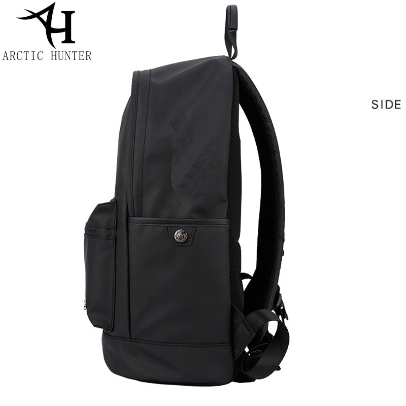 ea4418c17a57 ARCTIC HUNTER 15.6 inch School Backpack Male Fashion Vintage Backpacks Men  And Women Business Travel Waterproof