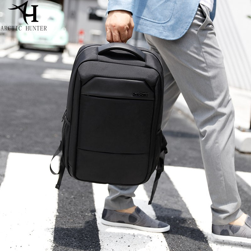 2e7c50f702 ARCTIC HUNTER Backpack fashionable 15.6 inch Laptop Computer Backpacks Male  school bags for teenage women backpack