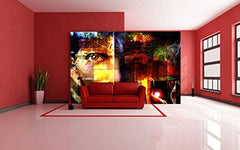 Startonight Mural Wall Art Photo Decor Abstract Design Large 8-feet 4-inch By 12-feet Wall Mural for Living Room or Bedroom
