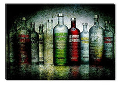 Startonight Canvas Wall Art Absolut, Grunge USA Design for Home Decor, Dual View Surprise Artwork Modern Framed Ready to Hang Wall Art 31.5 X 47.2 Inch 100% Original Art Painting!
