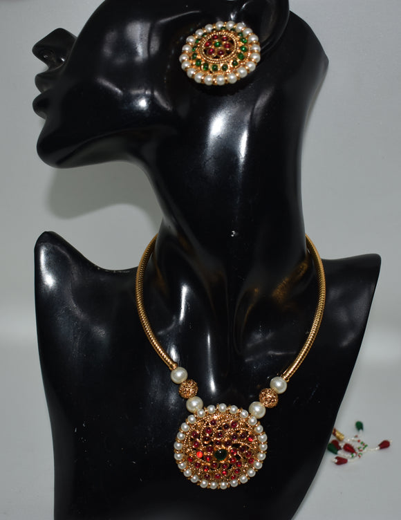 Ethnic Kemp Choker set