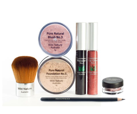Wild Nature Essentials with Blush & Gloss + eye & lip lift
