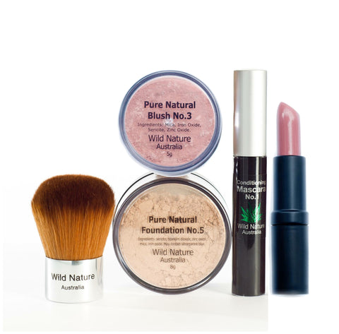 Wild Nature Essentials with Blush & Lipstick