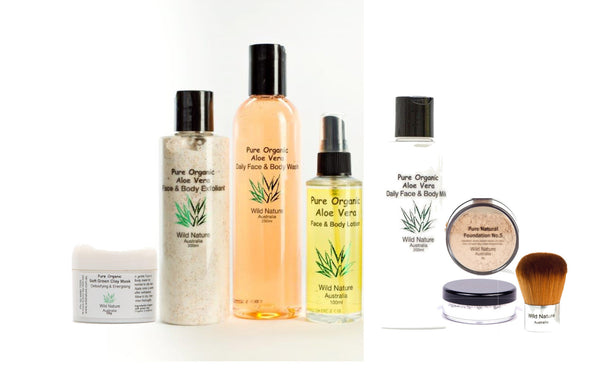 Wild Nature Essentials Kit - Oily/combination