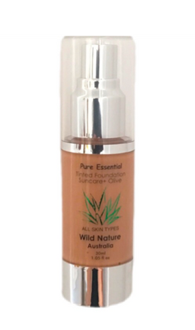 NEW! - Wild Nature OLIVE Mineral Liquid Foundation - 30ml