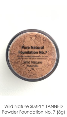 Wild Nature SIMPLY TANNED Powder Foundation No. 7 (8g)