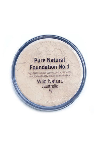 Wild Nature PORCELAIN FAIR Powder Foundation No. 1 (8g)