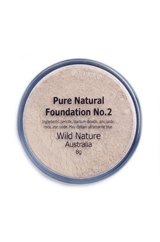 Wild Nature FAIR Powder Foundation No. 2 (8g)