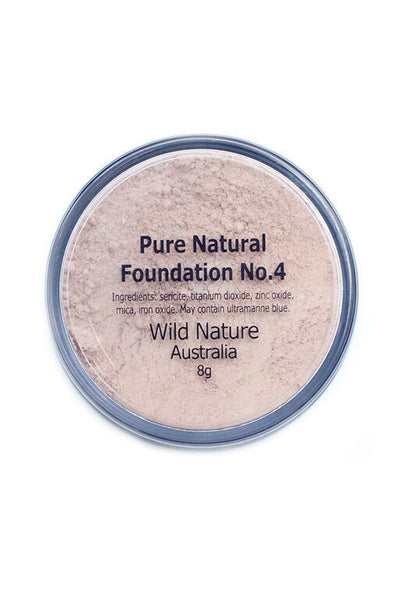 Wild Nature IVORY PINK Powder Foundation No. 4 (8g)