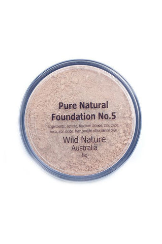 Wild Nature MEDIUM TAN Powder Foundation No. 5 (8g)