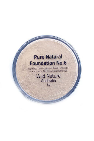 Wild Nature Powder MEDIUM - DARK Foundation No. 6 (8g)