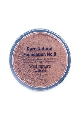 Wild Nature DARK Powder Foundation No. 8 (8g)