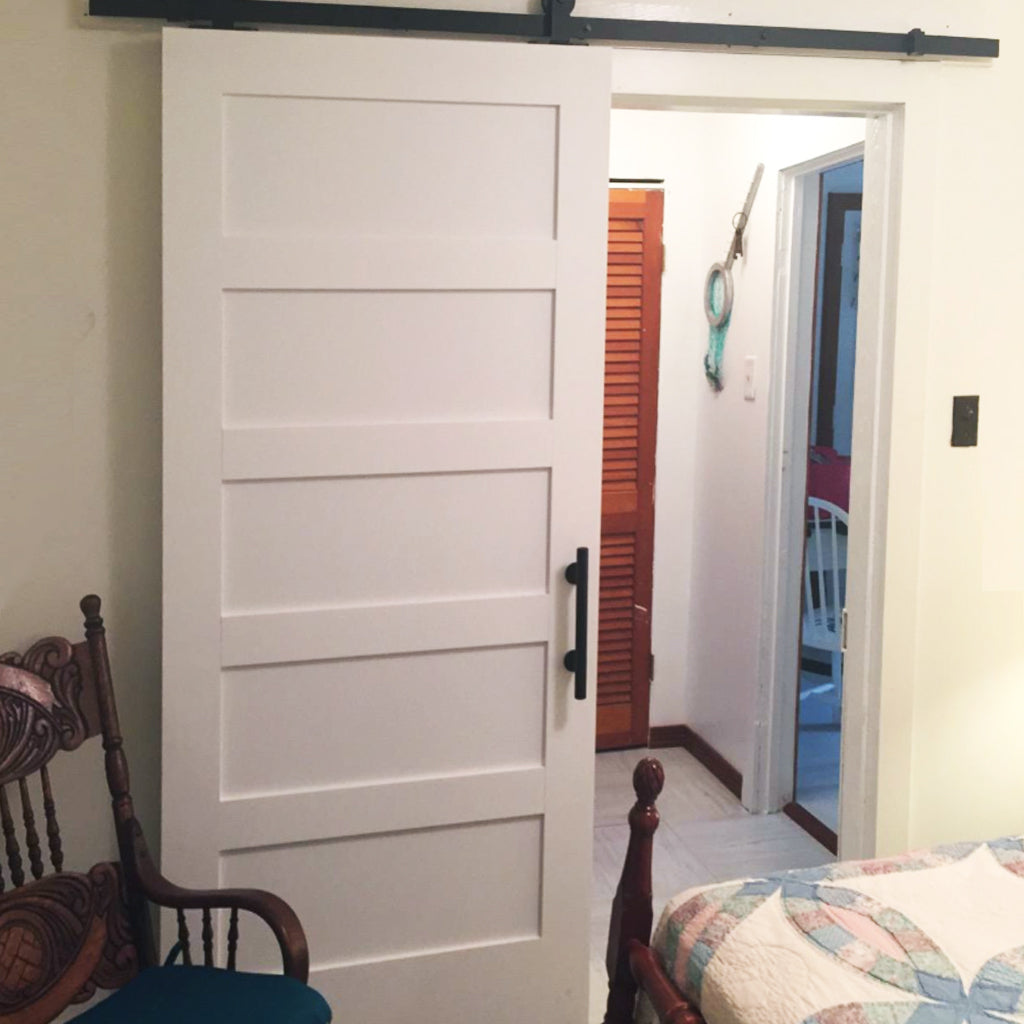 Customer Share - 5 Panel White Shaker Doors