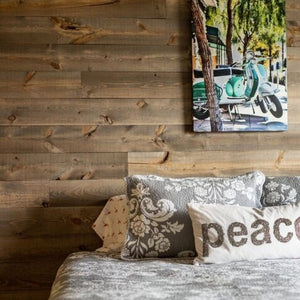 Rugged, restored, reclaimed - authentic barnwood shiplap is here