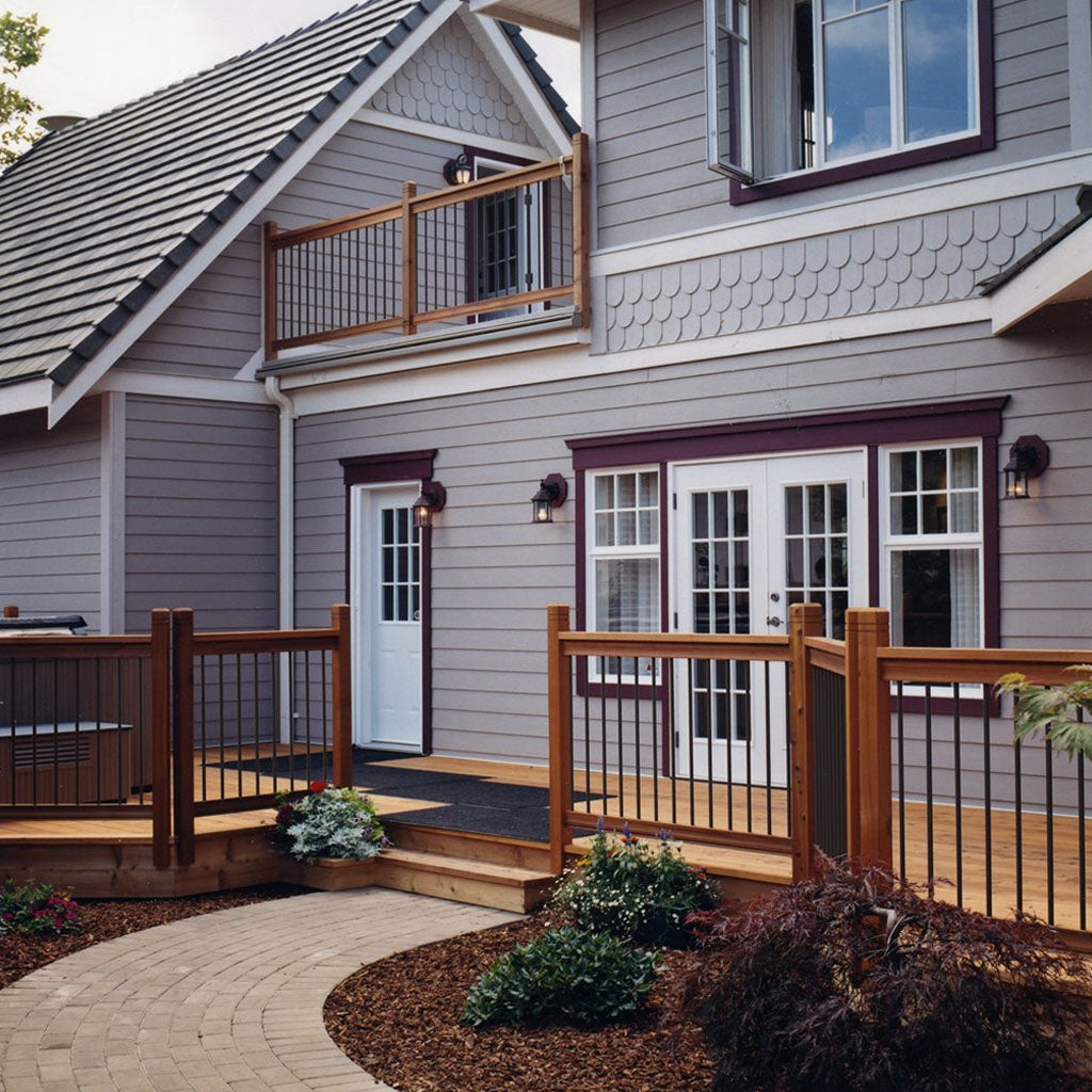 See yourself with Cedar - Vista Cedar Railing Kits are here!