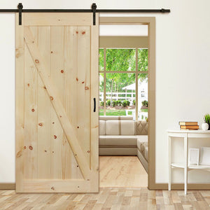 More space & more style - get both with our new Z-Bar barn door!
