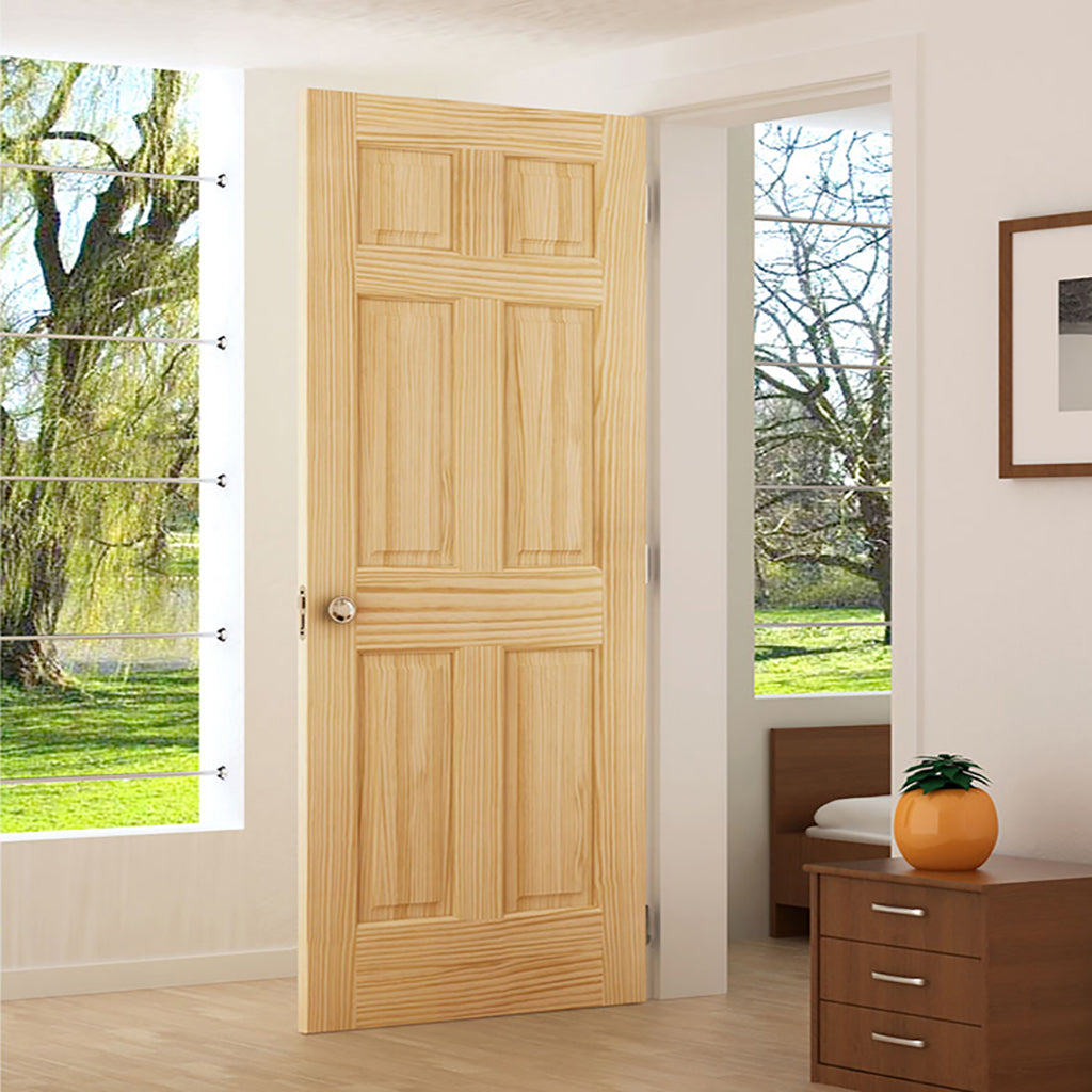 End of Spring Sale on Six-Panel interior doors