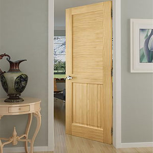 Breathe in the beauty - Our Louver Panel doors are now available!