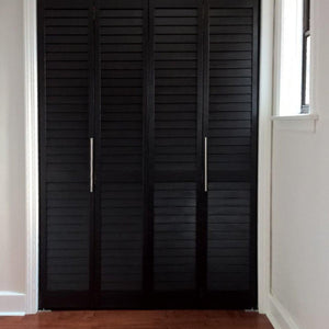 Customer Share - Louver Louver Bi-Fold Doors