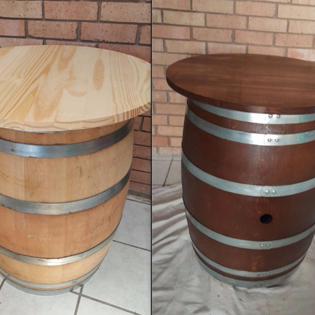 Customer Share - Pine Round Bistro Table
