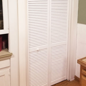 Customer Share - Traditional White Louver Louver Bi-fold Doors