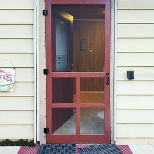 Customer Share - Wood Victoria Screen Door