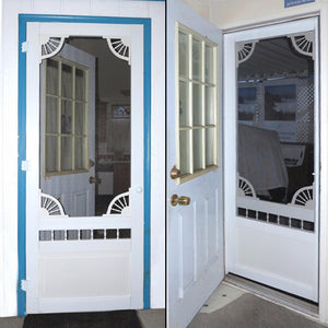 Customer Share - Vinyl Dakota Screen Door