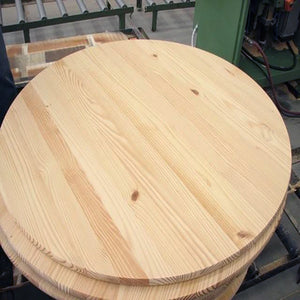 Round Pine Edge-Glued Board