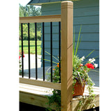 Cedar Deck Railing Kit by Vista
