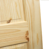 6-Panel Door, Solid Knotty Pine, Kimberly Bay® Interior Slab Colonial