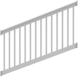 Deck Railing Finyl Line™ T-Top Vinyl White Square