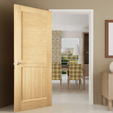 Louvered Panel Traditional Interior Door Slab Kimberly Bay® Unfinished Wood Solid Core