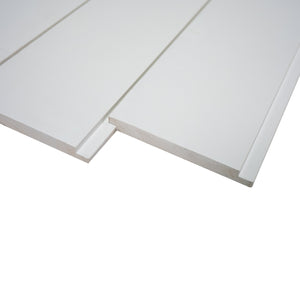 Nickel Gap White Shiplap Boards 3/4 in. x 8 ft.