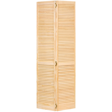 Closet Door, Bi-fold, Kimberly Bay® Traditional Louver-Louver Clear